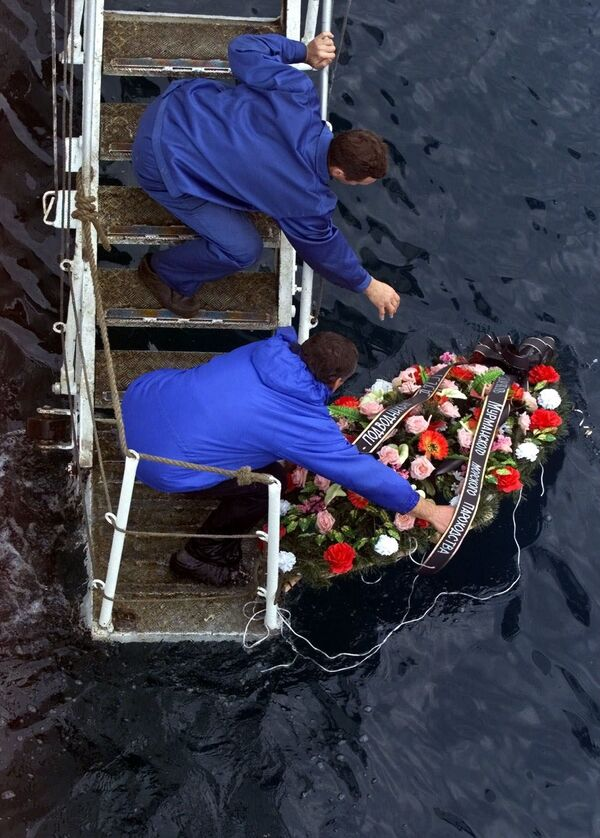 Tragédie jaderné ponorky Kursk - Sputnik Česká republika