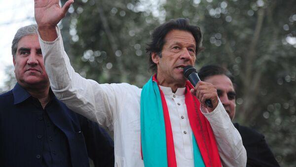 Pákistánský premiér Imran Chán. - Sputnik Česká republika