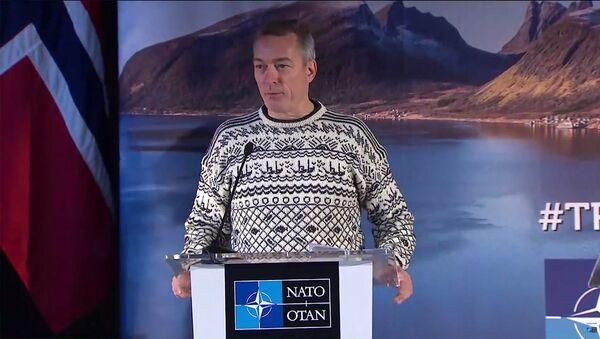ministr obrany Norska Frank Bakke-Jensen - Sputnik Česká republika