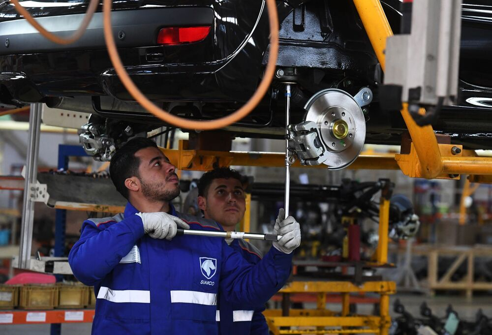 Automobilový podnik Siamco v Sýrii znovu ožil