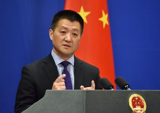Oficiální mluvčí čínského ministerstva zahraničí Lu Kang