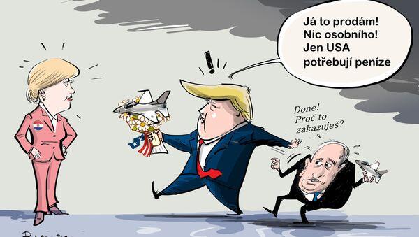 Dohoda století zrušena - Sputnik Česká republika