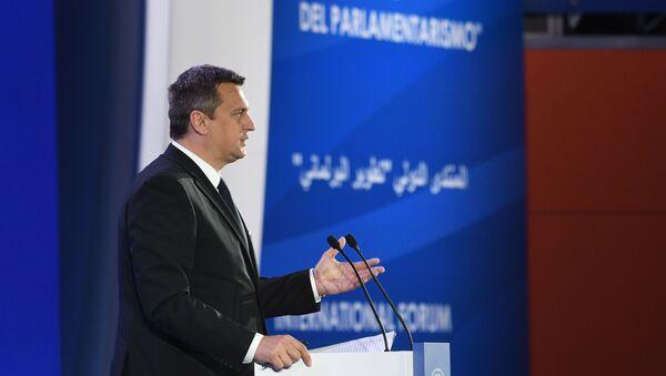 Předseda NR SR Andrej Danko - Sputnik Česká republika