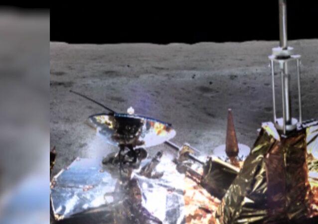Čínská kosmická sonda odhaluje krásu odvrácené strany Měsíce
