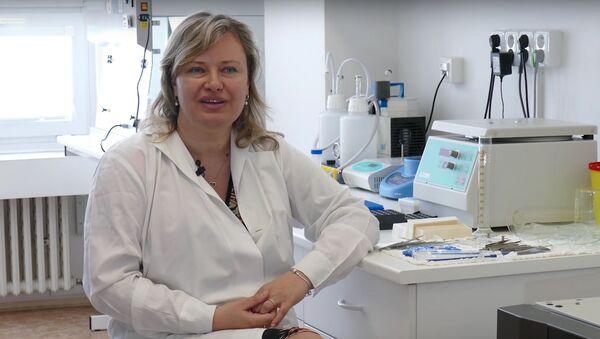 Profesorka Ilona Hromadníková - Sputnik Česká republika