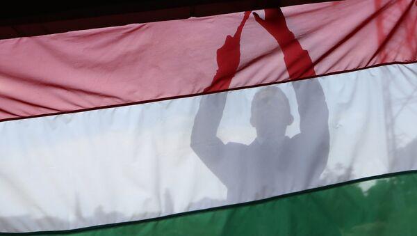Vlajka Maďarska - Sputnik Česká republika