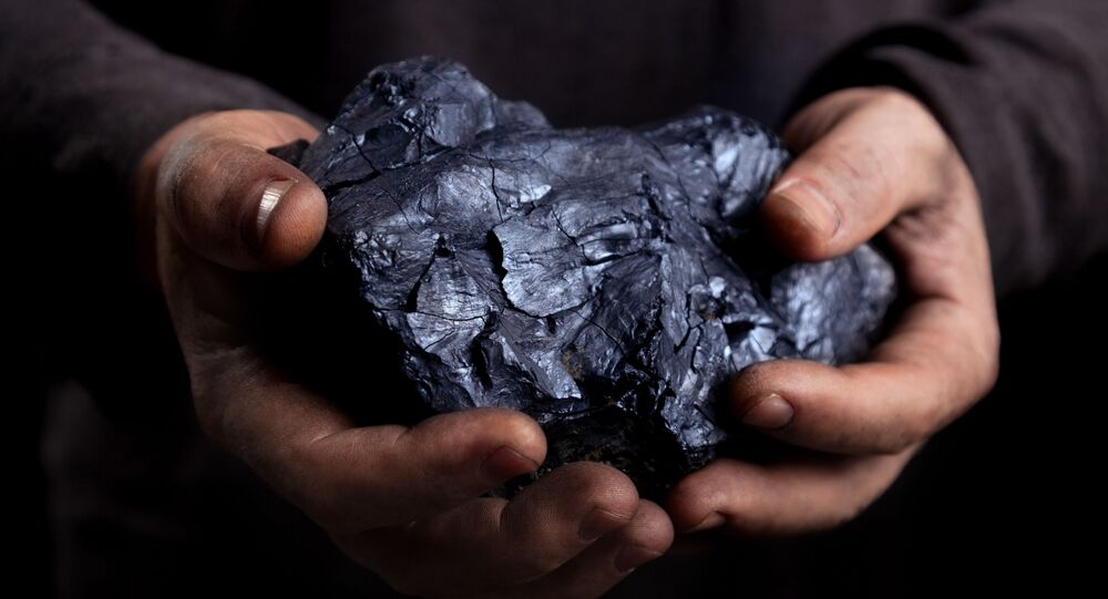 Ilustrační foto uhlí