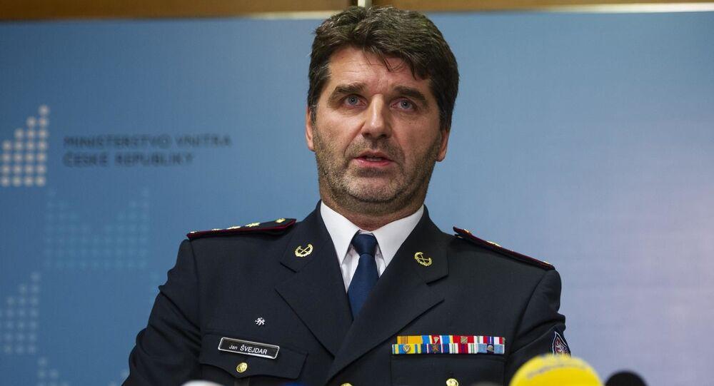 Český policejní prezident Jan Švejdar