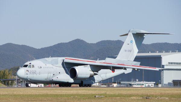 Vojenské dopravní  letadlo Kawasaki C-2 - Sputnik Česká republika
