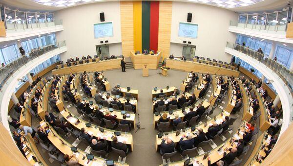 Parlament Litvy - Sputnik Česká republika
