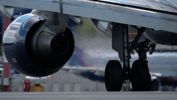 Letadlo na letišti Šeremetevo - Sputnik Česká republika