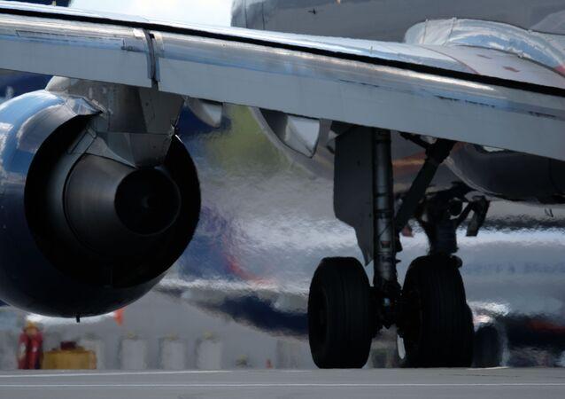 Letadlo v Šeremetěvu