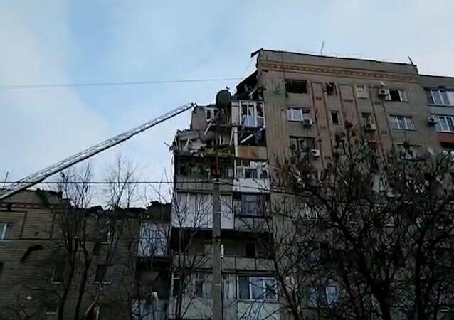 Výbuch plynu v Rostovské oblasti