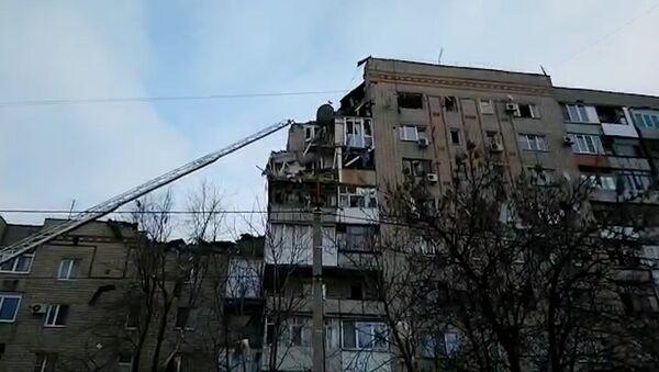 Výbuch plynu v Rostovské oblasti - Sputnik Česká republika