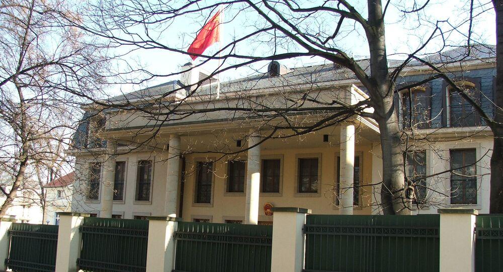 Velvyslanectví Číny v Praze