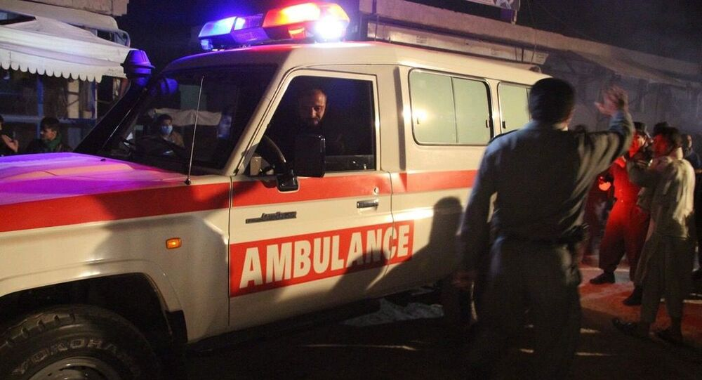 Výbuch v Kábulu