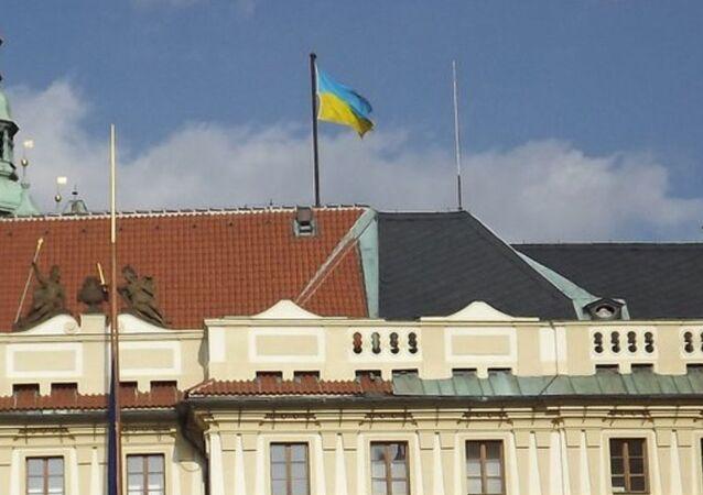 Úvodní fotka na Twitteru ukrajinského velvyslance v Česku