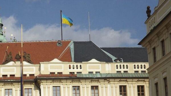 Úvodní fotka na Twitteru ukrajinského velvyslance v Česku - Sputnik Česká republika