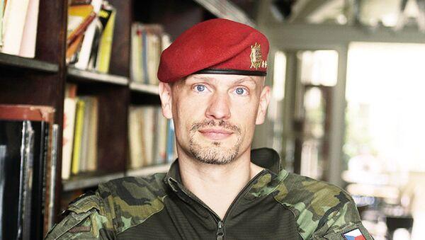 Podplukovník a výsadkář Ivo Zelinka - Sputnik Česká republika