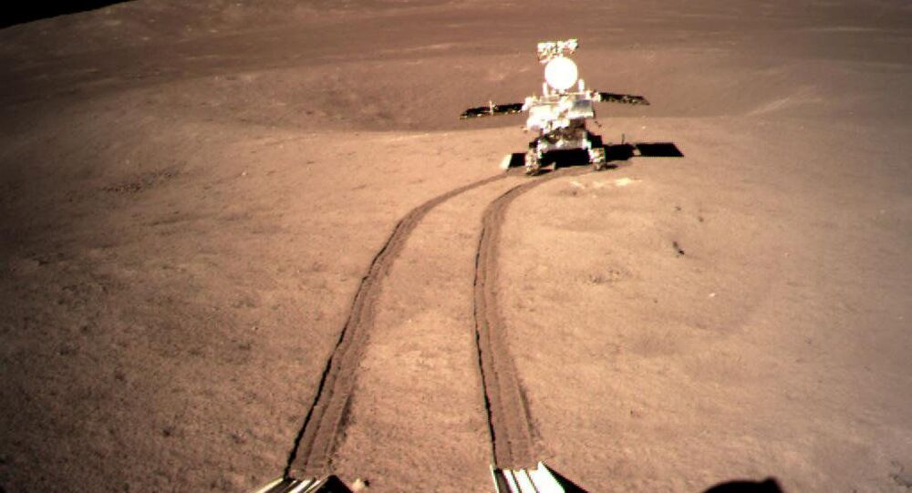 Čínská kosmická sonda Čchang-e 4