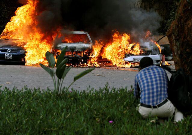 Útok teroristů v Nairobi