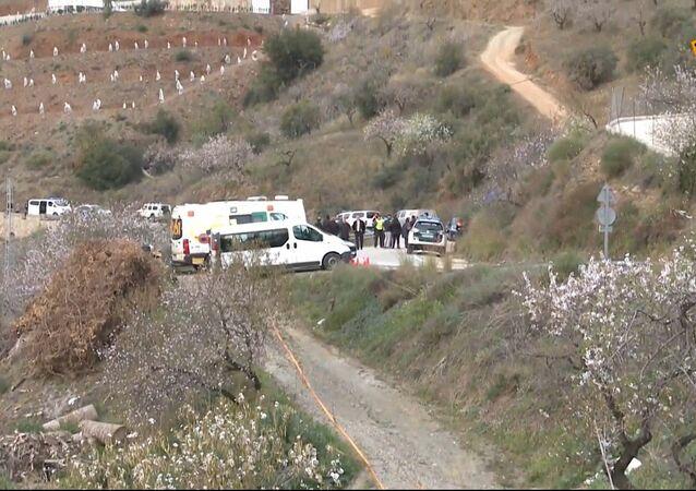 Ve Španělsku spadlo batole do vrtu