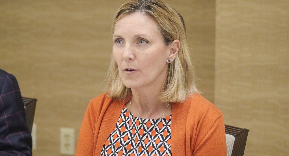 Zástupkyně amerického ministra zahraničí pro kontrolu zbraní a mezinárodní bezpečnost Andrea Thompson