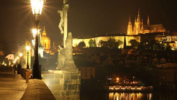 Pohled na noční Prahu - Sputnik Česká republika