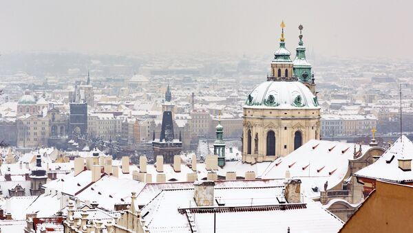 Zimní Praha - Sputnik Česká republika