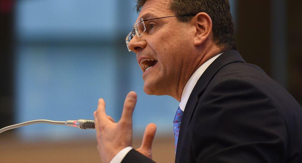 Eurokomisář Maroš Šefčovič