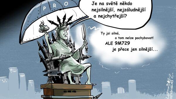 Demokracie USA a 9M729 jsou neslučitelné? - Sputnik Česká republika