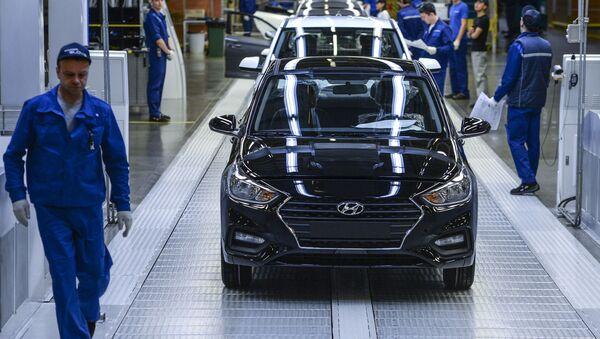 Hyundai Motor v Petrohradě - Sputnik Česká republika