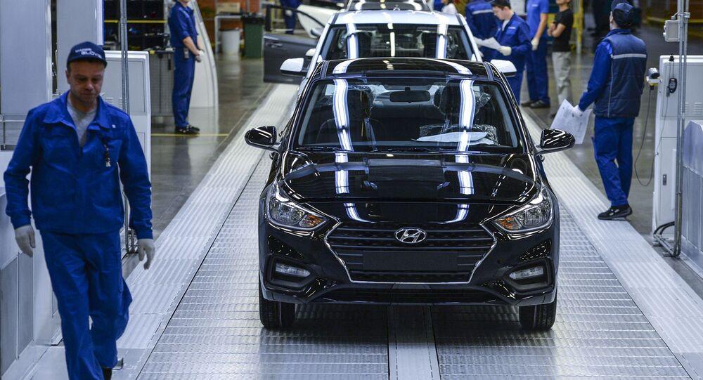 Hyundai Motor v Petrohradě