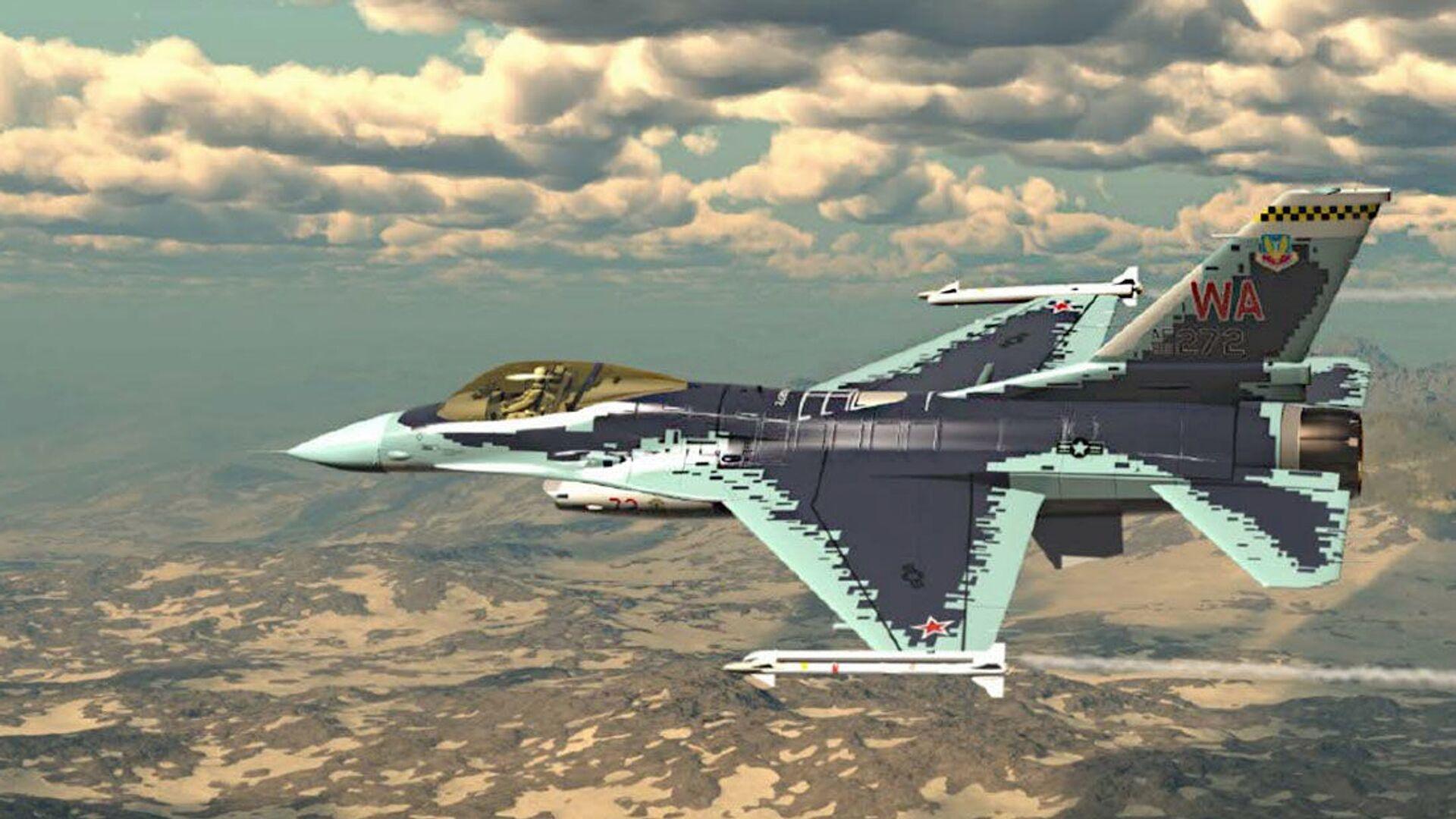 F-16 Fighting Falcon - Sputnik Česká republika, 1920, 01.07.2021