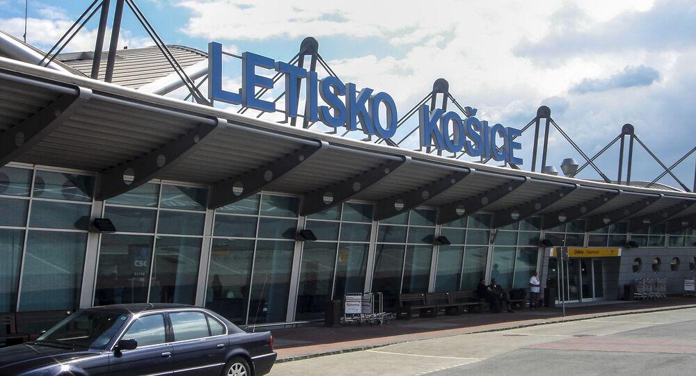 Letiště města Košice na Slovensku