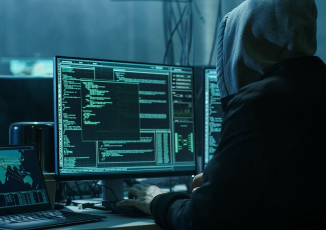 Hacker při práci