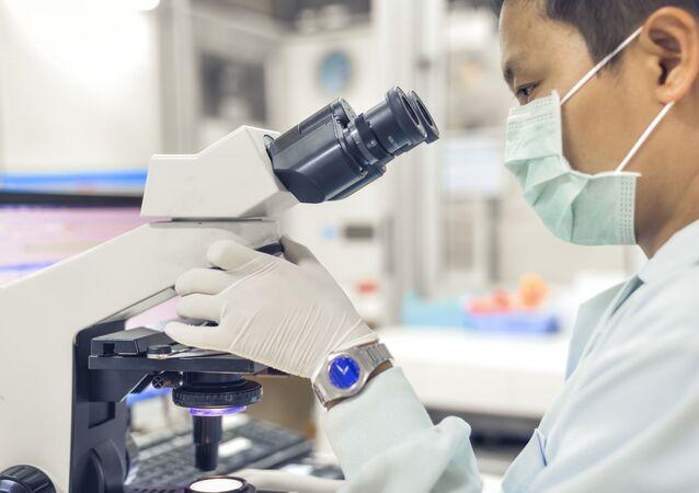 Laboratoř v Asii