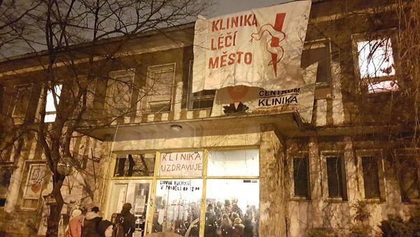 Autonomní sociální centrum Klinika - Sputnik Česká republika