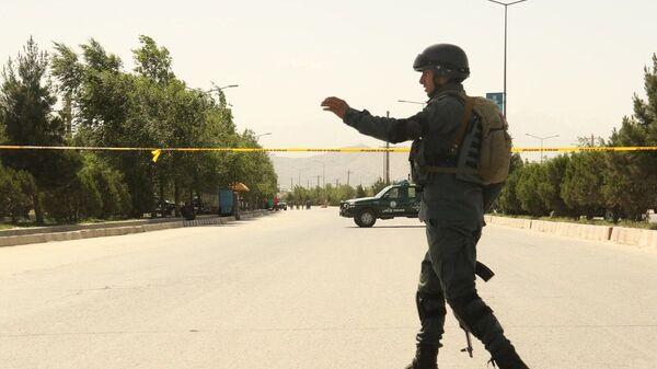 Ситуация в Кабуле после атаки на здание МВД - Sputnik Česká republika