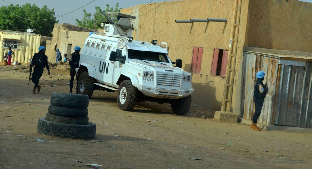 Mírová mise OSN v Mali MINUSMA