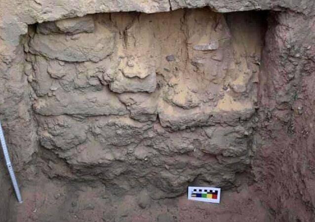 Hrob z období Staré říše, které byly objevené na jihu Egypta