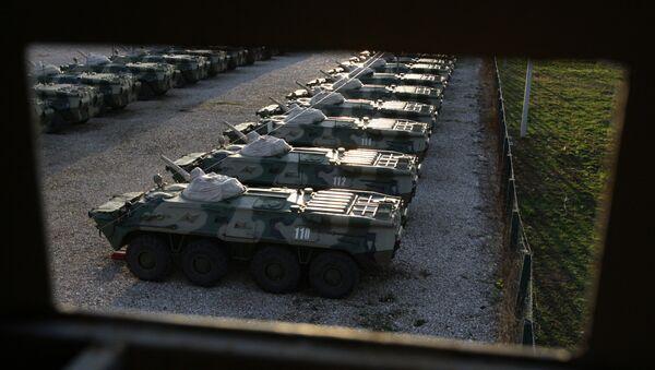 BTR v Abcházii. Ilustrační foto - Sputnik Česká republika
