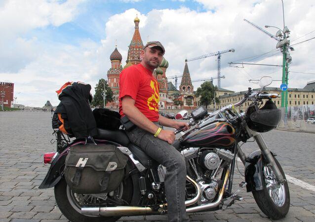 Tomáš Dvořák na Rudém náměstí