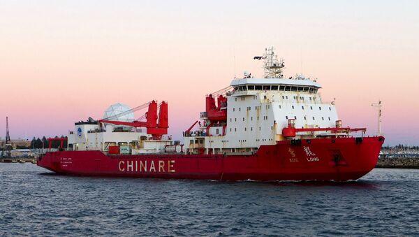 Čínský ledoborec Xue Long - Sputnik Česká republika