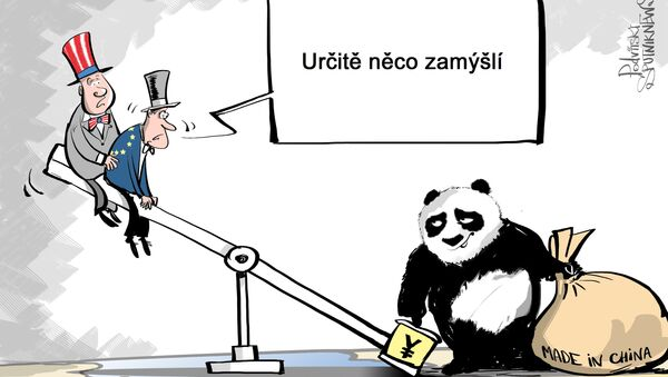 Chytrá čínská Panda - Sputnik Česká republika