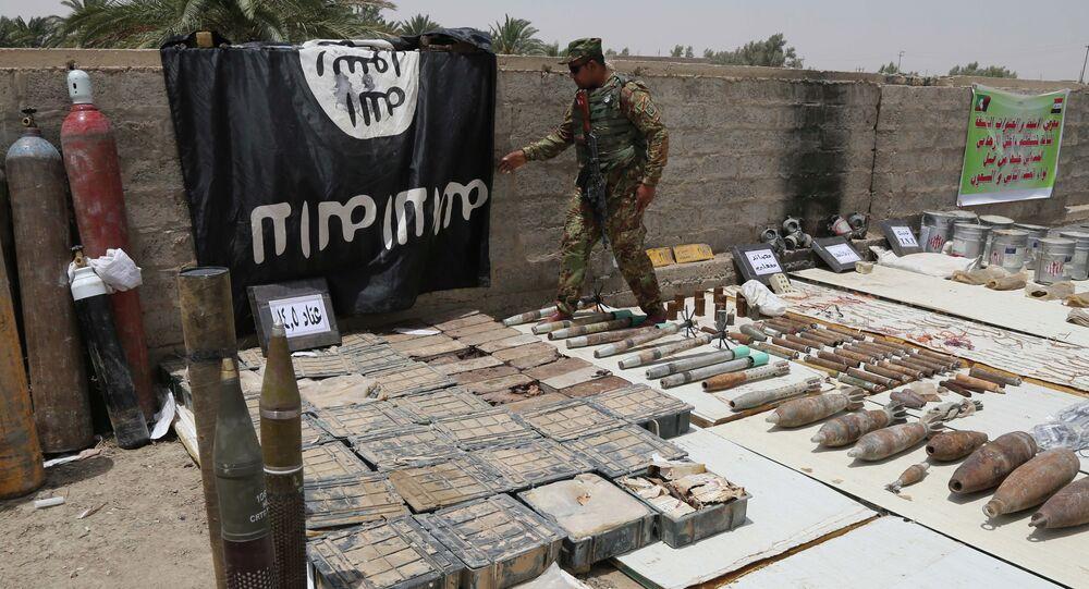 Vlajka ISIL, Irák