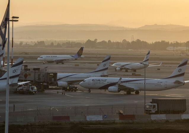 Letiště v Tel Avivu