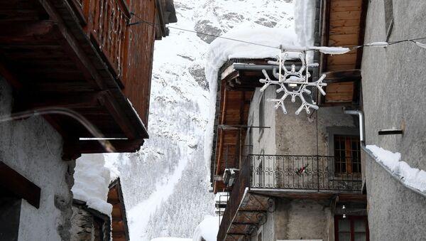 Zasněžené Alpy. Ilustrační foto - Sputnik Česká republika