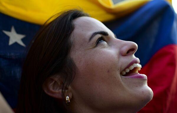 Horké dny ve Venezuele pokračují. Na mítinky zastánců venezuelské opozice přišly davy lidí - Sputnik Česká republika