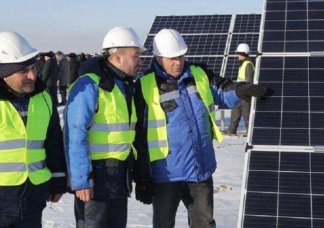 Sluneční elektrárna SES Saran